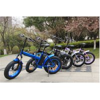 204.0 mini fat tire foldable electric bicycle thumbnail image