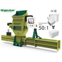 GREENMAX APOLO C200 foam recycling machine