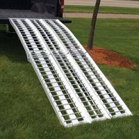 Aluminum ATV/motorcycle loading ramp