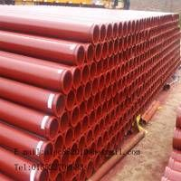 DN125 ST52 Concrete Pump Spare Parts Pipe