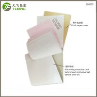 140x230mm kraft paper cover folded carboard Customer satisfaction questionnaire book thumbnail image
