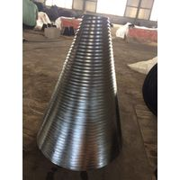 Wood Screw Splitter Cone for the drilling with chromeplate surface according to iso 9001