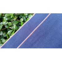 7.3oz Light weight selvedge chambray denim jeans garment fabric 040