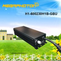 Megaphoton Manufacturer 600W HPS/MH horticultural grow light electronic ballast thumbnail image