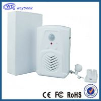 mini PIR motion sensor activated door bell speaker