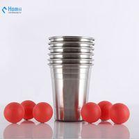 16oz stainless steel single wall beer mugs cold mugs Hangzhou homii Industry