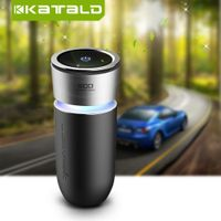Cup Shape Car Air Purifier Car Ionizer Negative ion with USB charger