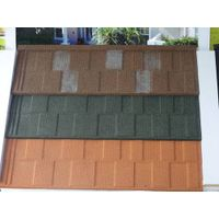 stone chip coated steel roofing tile