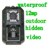 2.7 inch 12MP Infrared Hunting Camera with Motion Detection thumbnail image