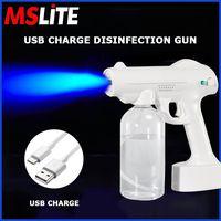 USB Charge Disinfection Gun Car Sterilizing Machine Home Air Purifier Automatic Nano Sprayer