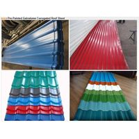 Pre-Painted Galvalume Corrugated Roof Sheet