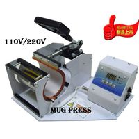 Heat Press Cone Mug Printer, DIY Image Photo Machine Photo On Mug Printer