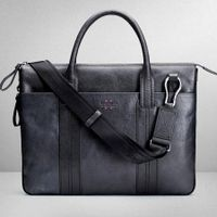 Business bag Korean men's leather briefcase handbag cross casual leather men bag handbag