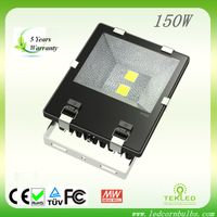 Fin-Style 150w LED Flood Light CE & RoHS certified,5 years warranty