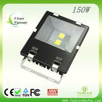 Fin-Style 150w LED Flood Light CE & RoHS certified,5 years warranty