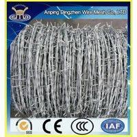 High Quality Galvanized Barbed Wire For Sale / Best Selling thumbnail image