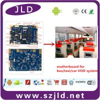JLD032 motherboard for car headrest vod system with 3g 4g module poe module