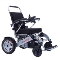 Portable electric power wheelchair for disabilities
