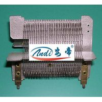 Heating core, shoe drying machine, drying machine, heater heating core, warm air heater hanger