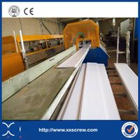 PVC window and door profile extrusion machine line