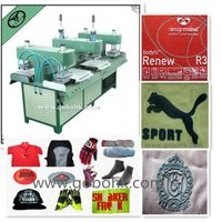 silicone rubber molding machine for embossing Clothing,shoes and hats with skateboard thumbnail image