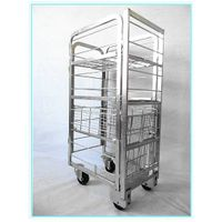 Milk roll cage for dairy farms