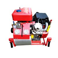 Big flow fire pump with diesel engine