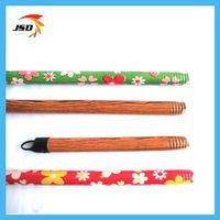 threading broom handle