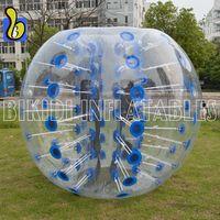 D5100 Hot Sale 1.5m PVC Bubble Football With Colorful Dot thumbnail image