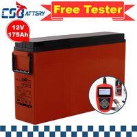 Csbattery 12V100ah Slim Telecom Gel Battery for Solar/UPS/Telecom-System/SLA/Emergency-Power/Access- thumbnail image