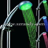 temperature sensor color changing led  shower /shower head/massage shower(hot selling) thumbnail image
