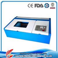 Mini Desktop CO2 Laser Engraving Stamp/Rubber Machine thumbnail image