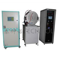 VTHK550 High Vacuum Annealing Furnace High Temperature 1200 degree