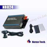 GPS Vehicle Tracker with Fuel detecting and RFID Reader solution and two-way communication NR024