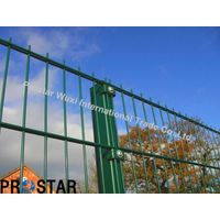 8/5/8 Double Wire Panel Fence with with Black Material