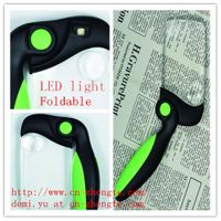 Illuminated Foldable Handheld Magnifier with LED