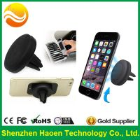 2015 hot selling round magnetic smartphone air vent mount holder for car thumbnail image