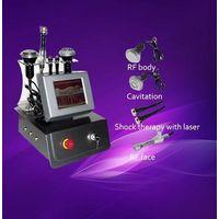RF+Cavitation+Shock therapy beauty equipment