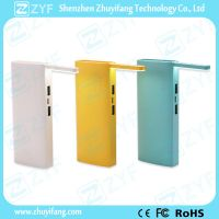 Dual USB Port Power Bank with Foldable LED Light