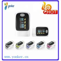 Colorful Fingertip Pulse Oxymeter (CE approval)