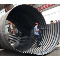 high quality hot dip galvanized steel culvert