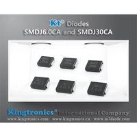 Kt Kingtronics Introduce 3000W Diodes SMDJ6.0CA and SMDJ30CA