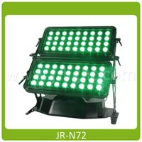 LED Wall Washer Outdoor, 72X8W, Quadcolor RGBW 4in1