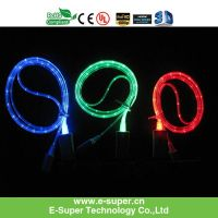 For iPhone 5 / 4 / 4S Micro USB LED Charging Cable