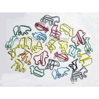 Zoo theme shaped paper clip