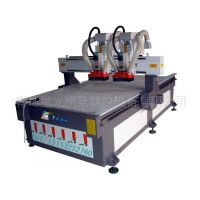 Double heads CNC woodworking router