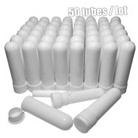 blank inhaler tubes for essential oil inhaler and aromatherapy inhaler and pharmacy medical inhaler