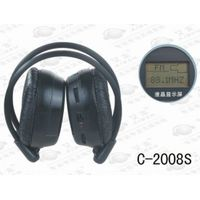 C-2008seducational wireless headphone/language teaching wireless headphone  with fm radio,LCD displa thumbnail image