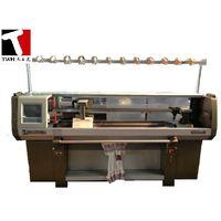 single system flat knitting machine