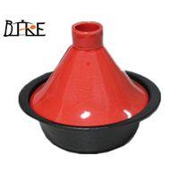 cast iron ceremic tagine pot